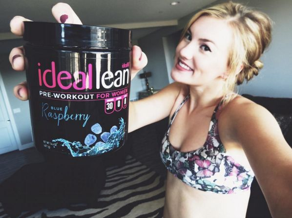 """""""***ladies*** for those of you who love to work out but need the energy and boost to keep your adrenaline going, I highly recommend IdealLean pre-workout! It tastes great and calls for an awesome workout!! It's a great idea for a great price  @idealfit #ideallean #idealfit #workout""""  THANK YOU @kyrae12 for that awesome review on blue raspberry IdealLean Pre-Workout made JUST for women  Learn more about the pump of pre-workout here: https://idealfit.com/pre-workout/"""
