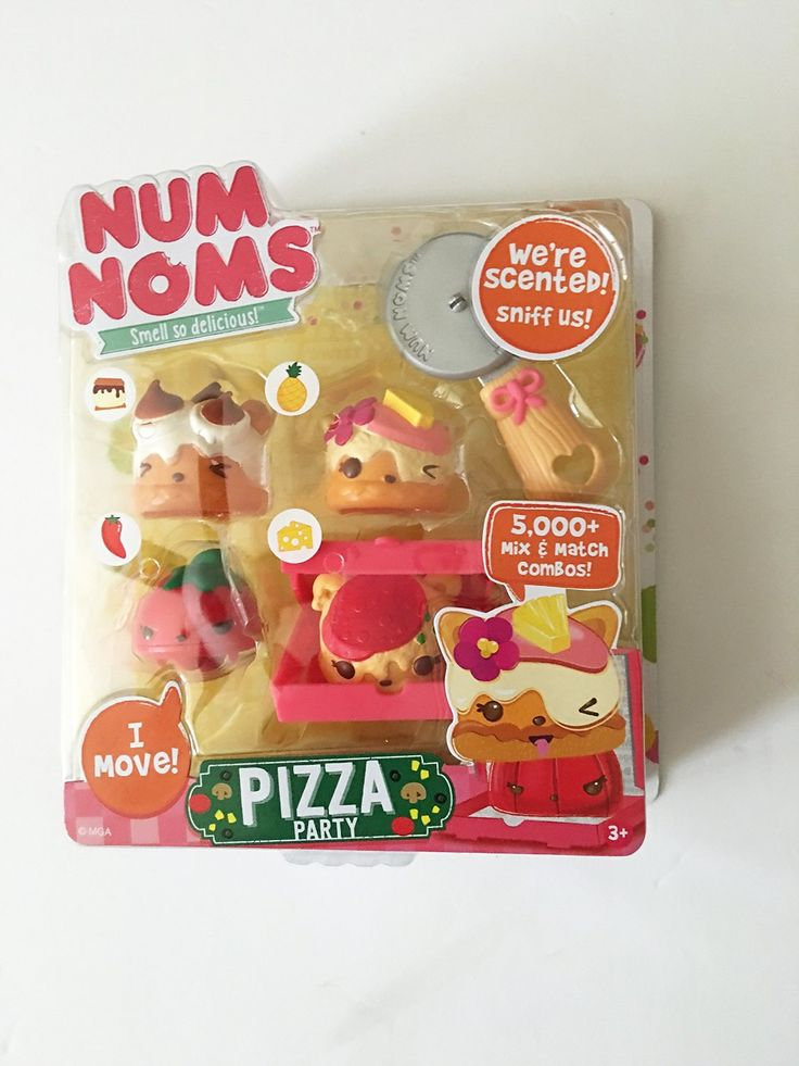 Amazon.com: Num Noms Series 2 Pizza Party: Toys & Games