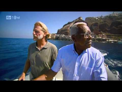 Part 1 - Past & Present - Learning about Santorini & the way people live with Trevor McDonald