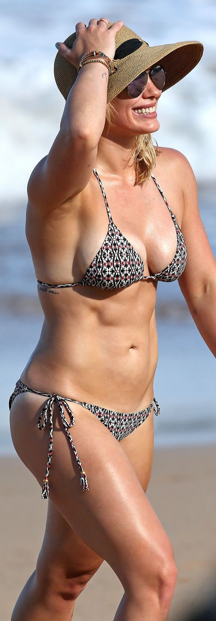 Hilary Duff - Bikini Candids in Hawaii 9-7-2015