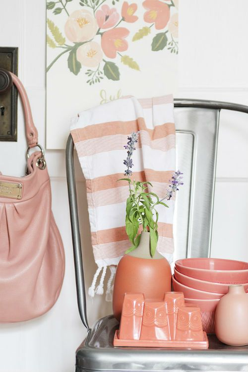 Coral Is The Hot Color For Fashion And Home Accessories This Spring