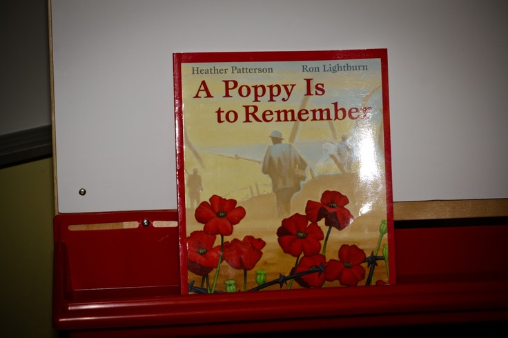 Play To Learn In Kindergarten: Remembrance Day