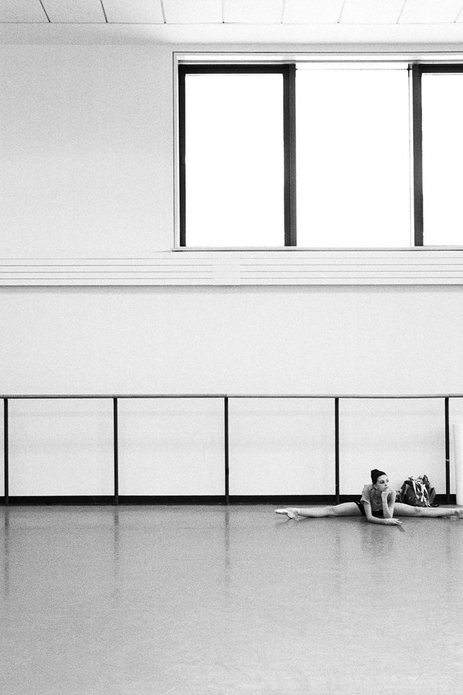 Behind the scenes of the New York City Ballet.
