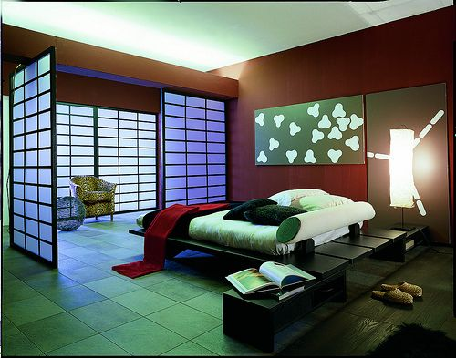 The beauty of this room can not be heard... but by adding the right tranquil music can make the most enviroment enriched with beauty!  Asian Inspired Decor - Oriental decorations for the home
