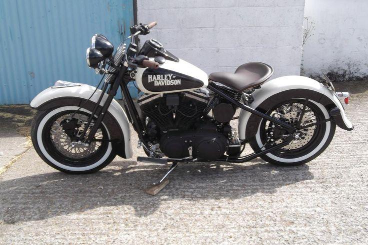 166 Best Images About Harley Davidson On Pinterest: WL Style Harley Davidson Sportster Bobber