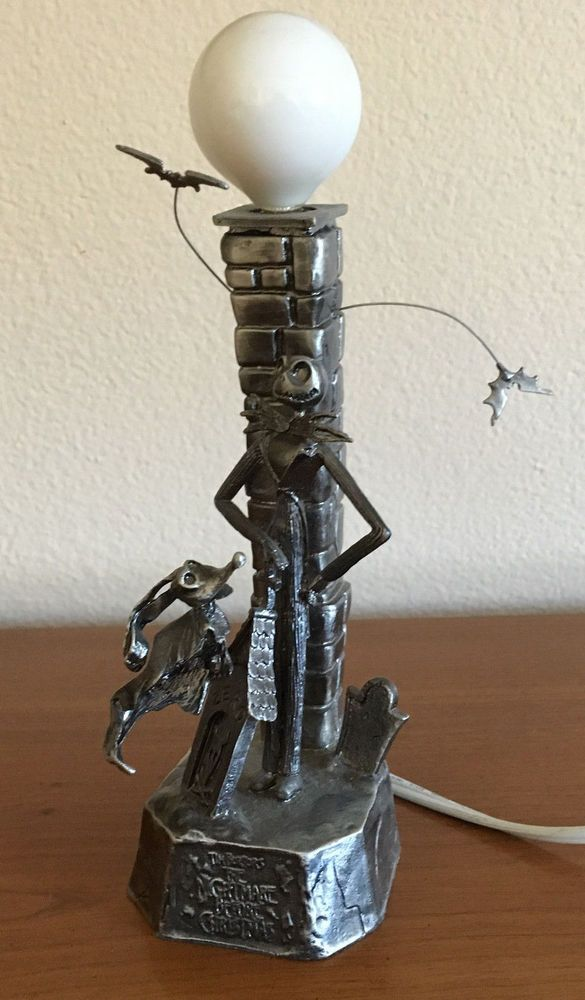 Nightmare Before Christmas Jack Skellington Metal Lamp Neca Touchstone Pictures