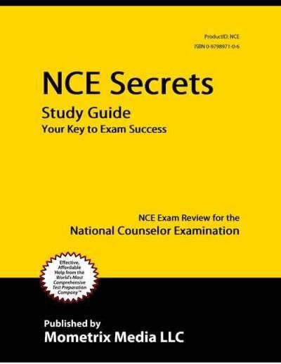 NCE National Counselor Examination for Licensure and ...
