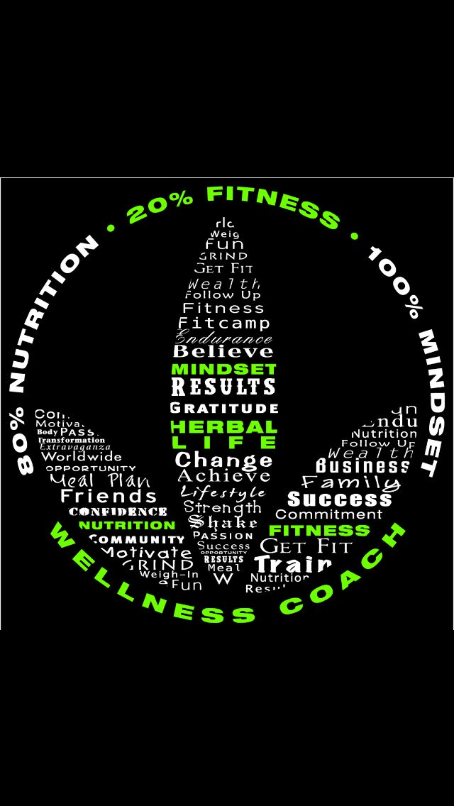 Herbalife - 80% nutrition, 20% fitness and 100% mindset!! Let me know if you would be interested louinaclack@gmail.com