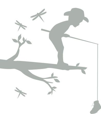 boy fishing decal #Incy Interiors #Dream Children's room