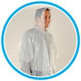 repare your customers for the upcoming Spring Weather! (3887 RAIN PONCHO TO GO) SALE $1.79 ea per 150 qty. This is a convenient & light weight, adult one-size fits all rain poncho. Includes round plastic ball container with snap-on clip. Clip easily attaches to purses, backpacks or belt loops. A great product to target golfers. Contact Dave at Kemp Promotions to place your order or to request a sample (drkemp01@sbcglobal.net or (708) 532-5636) — at Kemp Promotions.