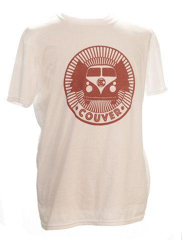 Van Couver T-Shirt - Men's White - West Coast=Best Coast for a roadtrip