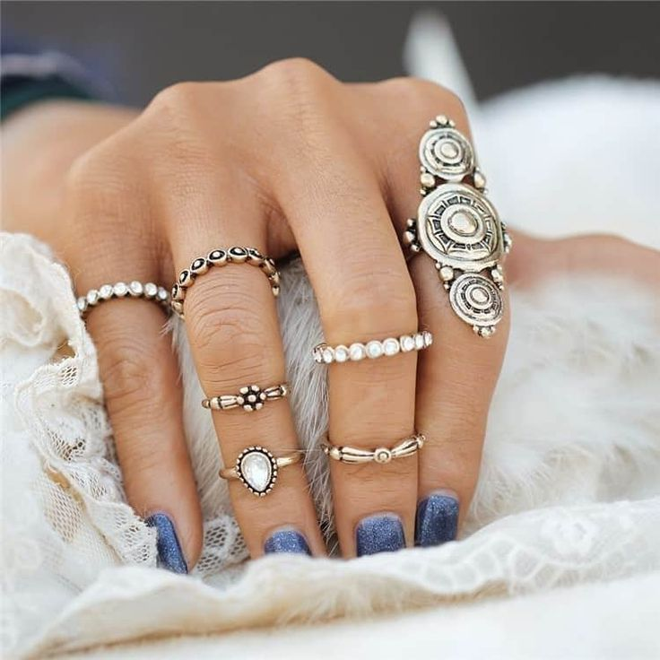 20 best APHRODITE RING SETS images on Pinterest   Midi rings ...
