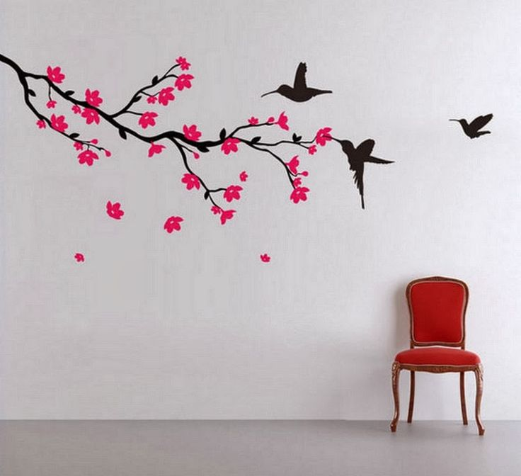30 Beautiful Wall Art Ideas And Diy Wall Paintings For Your - Dibujos-de-pared