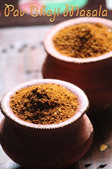 YUMMY TUMMY: Homemade Pav Bhaji Masala Powder Recipe / How to Make Pav Bhaji Masala at Home