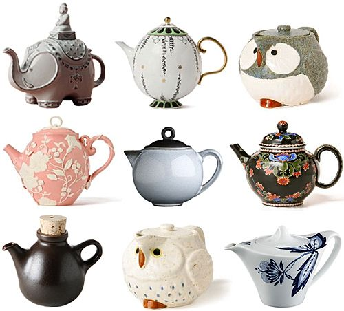 collection: teapots( i setrilleres )