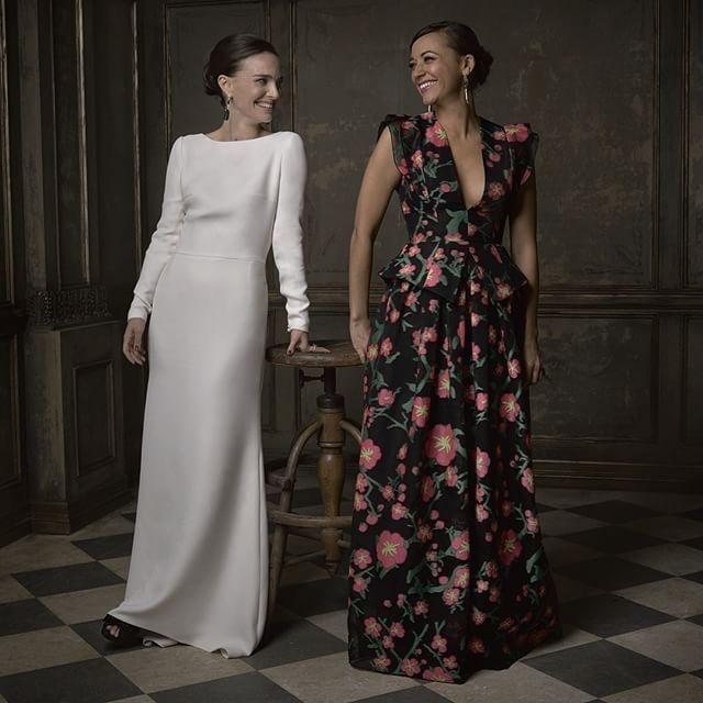 Natalie Portman & Rashida Jones for vanity Fair oscars