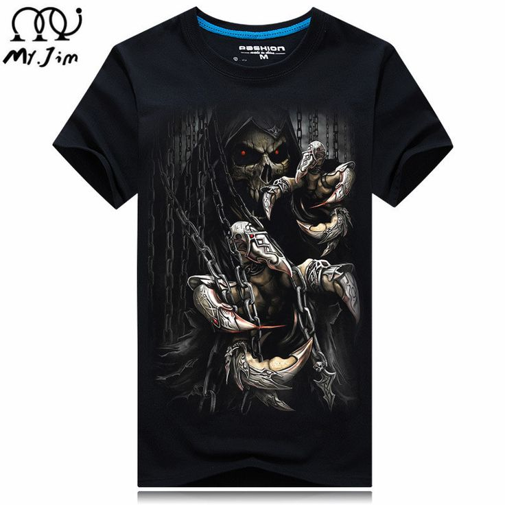 2016 nine Size Water droplets move  printed t-shirts, punk  short sleeve T-shirt  S - 5XL , 20 style Men men's  T - shirt