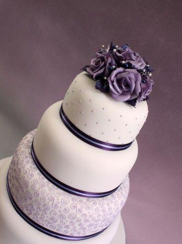 Purple Swirl Wedding Cake Starla Uhles Van Winkle Uhles Van Winkle Uhles Van Winkle Uhles Van