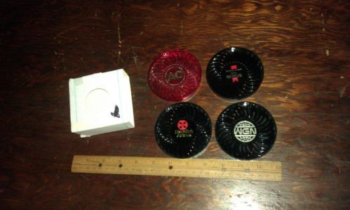 4 coasters,Advertising,AC,Michelob,wgn,Hawaiin Airlines,good cond,in box