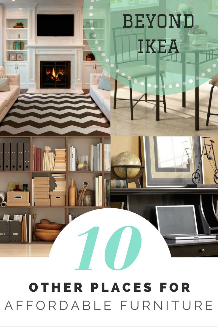 Beyond IKEA  10 Other Places to Get Affordable Furniture. Best 25  Affordable furniture ideas on Pinterest   Natural bedside