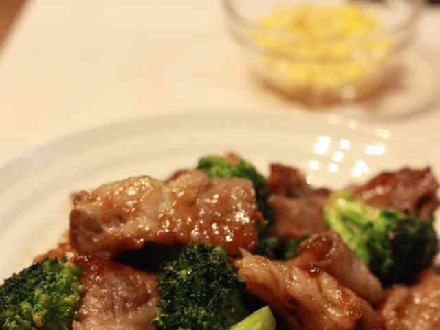 ご飯に合う!牛肉ブロッコリーのオイスターの画像