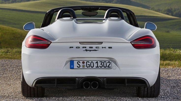 Porsche Boxster Spyder #981 (2015) review by CAR Magazine