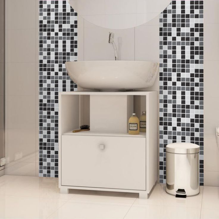 Aparador Rommanel ~ Oltre 1000 idee su Pastilhas Adesivas Para Banheiro su