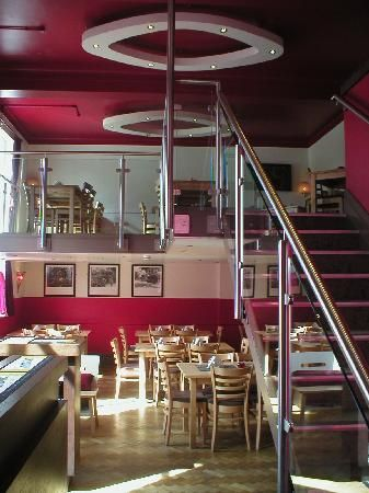 The Corner Cafe in Leeds, England.