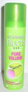 DanniiBeauty: Garnier Fructis Pure Volume Dry Shampoo Review