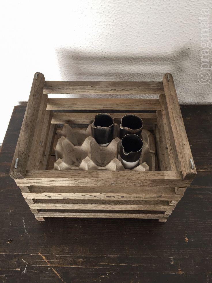 """""""Cuckoo's nest"""" Mini pitchers by Naotsugu Yoshida  「カッコウの巣」 小片口、吉田直嗣 #pragmata"""