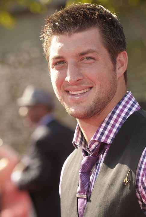 Tim Tebow. Enough said.  Dear Lord, I want a carbon copy of this man for each one of my girls.  Thank you in advance.  From:  Your favorite daughter :)