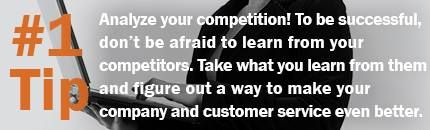 Tip Tuesday: Analyze Your Competition!    #balancelogic #tiptuesday