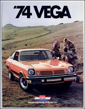 My first car.      1974 chevrolet vega gt pictures | 1974 Chevrolet Vega Hatchback GT Coupe 16 page color catalog original ...