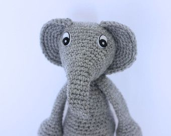 My cute crochet elephant