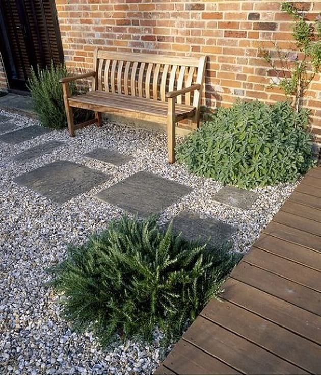 Gorgeous Gravel Garden Ideas That Inspiring You Garden Paving Small Front Yard Landscaping Backyard Landscaping
