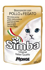 SIMBA - Pouches with chicken liver