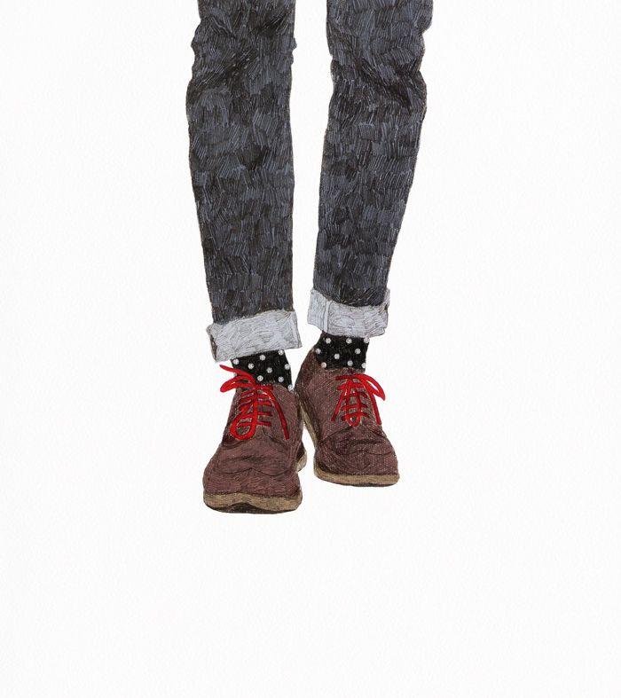 fashion  inspiration / man shoes