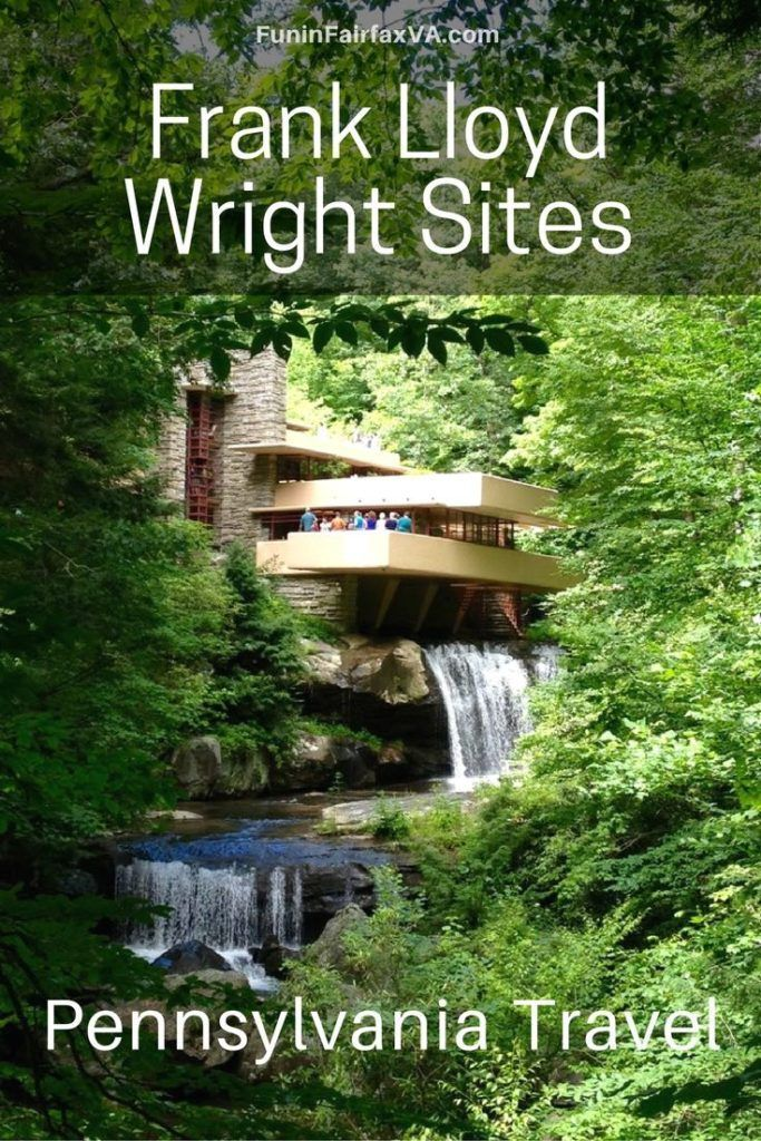 Pennsylvania USA travel | Tour three beautiful homes, including the iconic masterpiece Falligwater, on a Frank Lloyd Wright road trip to Laurel Highlands, Pennsylvania.