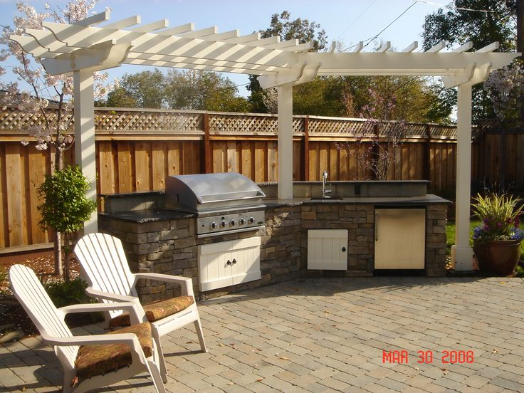 Outdoor bbq island patio covers bbq islands for Outdoor grill island ideas