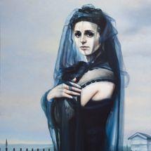 Sibyla, 170 x 115 cm, olej na plátmě, 2011