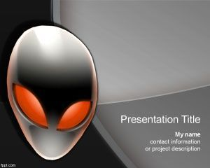 17 best dark powerpoint templates images on pinterest alien powerpoint template toneelgroepblik Gallery