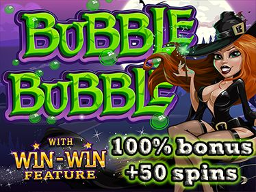 #SilverSandsEuro and #JackpotCash are currently running a #Halloweenpromotion which offers all players a 100% bonus Plus 50 Free Spins on the slot #BubbleBubble.  This promotion is available to both new and existing players and the promotion can be used 10 times per player.  Jackpot Cash  - 100% bonus plus 50 free spins on Bubble Bubble with a minimum deposit of R100. Silver Sands Euro - 100% bonus plus 50 free spins on Bubble Bubble with a minimum deposit of €20.