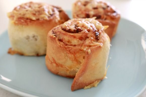 Thermomix Cheesymite Scrolls - the perfect lunch box filler!