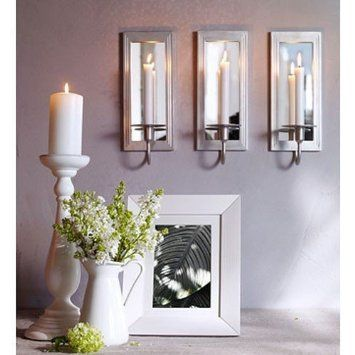 14 best decorative candle wall sconces images on pinterest candle wall sconces appliques and. Black Bedroom Furniture Sets. Home Design Ideas