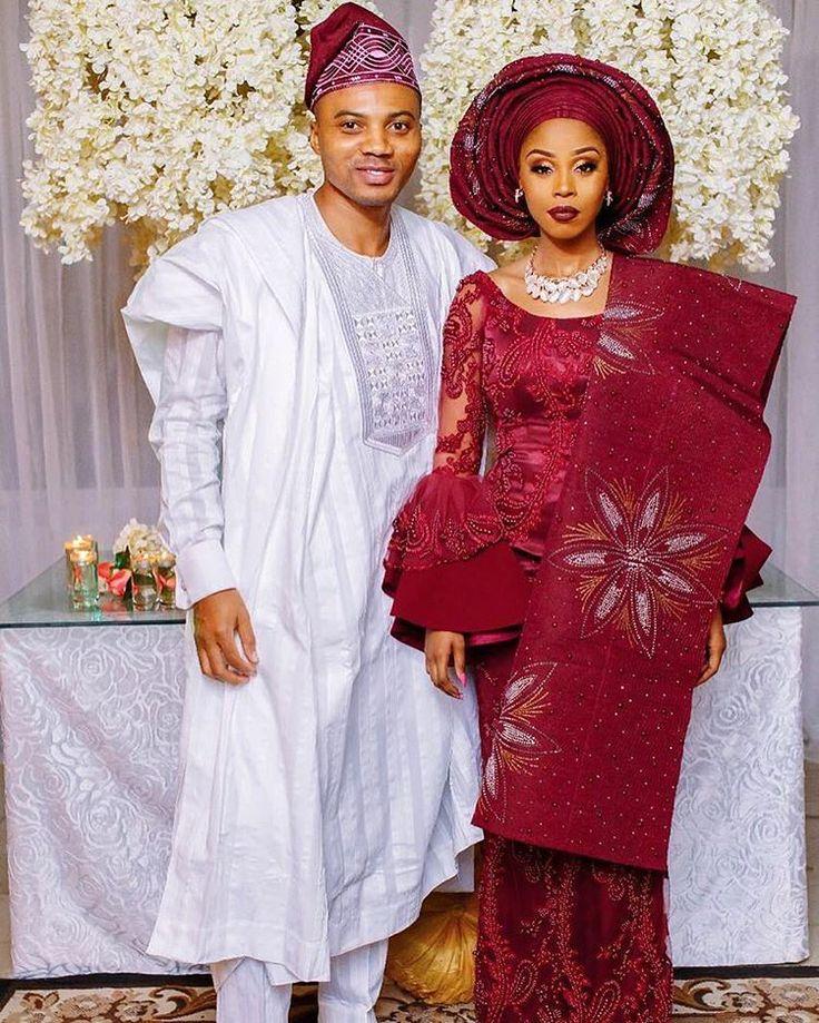Stylish Couple! #TigeradoresAbby  Fabric by@aso_ebi_coutureTailored by@styletemple Jewerly by@lush_jewels  Photography @blawz_  #WeddingDigest #WeddingDigestNaija