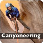 I love canyoneering in Zion National Park