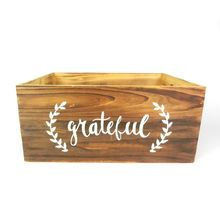 Large Wooden Crate with Inspirational Word By Ashland® - Michael's