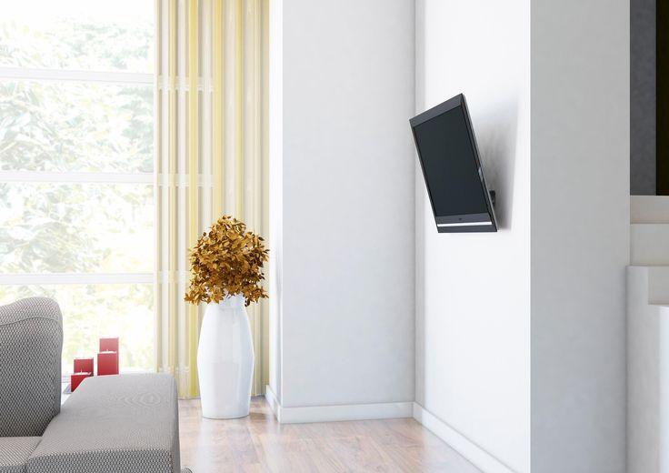 VOGEL´S ® TV-Wandhalterung neigbar »THIN 315« silber, Mit Neigefunktion Jetzt bestellen unter: https://moebel.ladendirekt.de/wohnzimmer/tv-hifi-moebel/tv-halterungen/?uid=cae7ef82-3510-5ca7-96ca-3735e75f6816&utm_source=pinterest&utm_medium=pin&utm_campaign=boards #tvhalterungen #wohnzimmer #tvhifimoebel