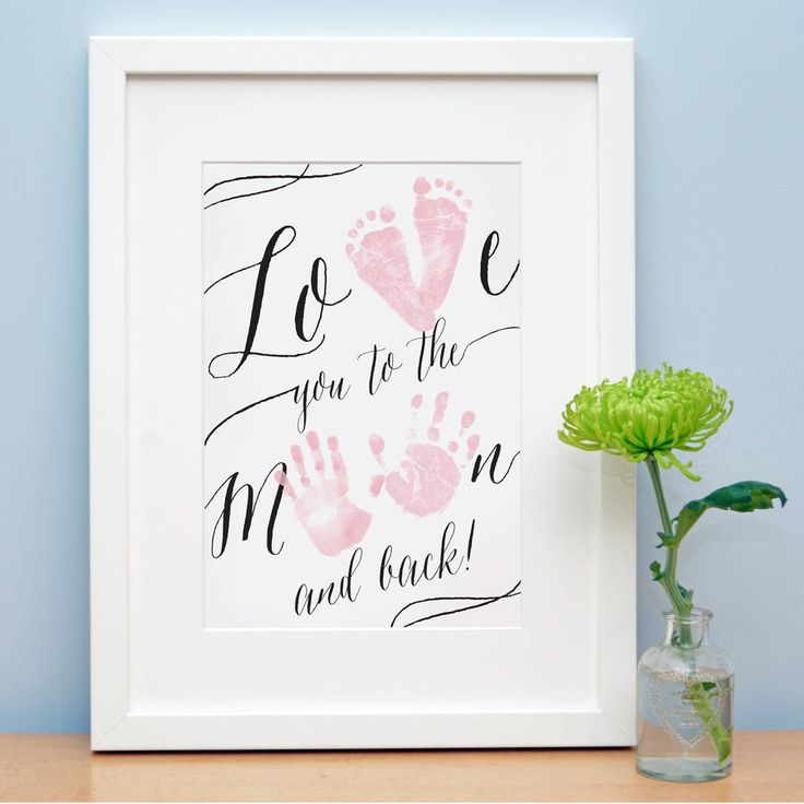I've just found Love You To The Moon And Back. A beautiful keepsake for baby and the perfect gift for new mummies and daddies, grandparents and godparents.. £12.00
