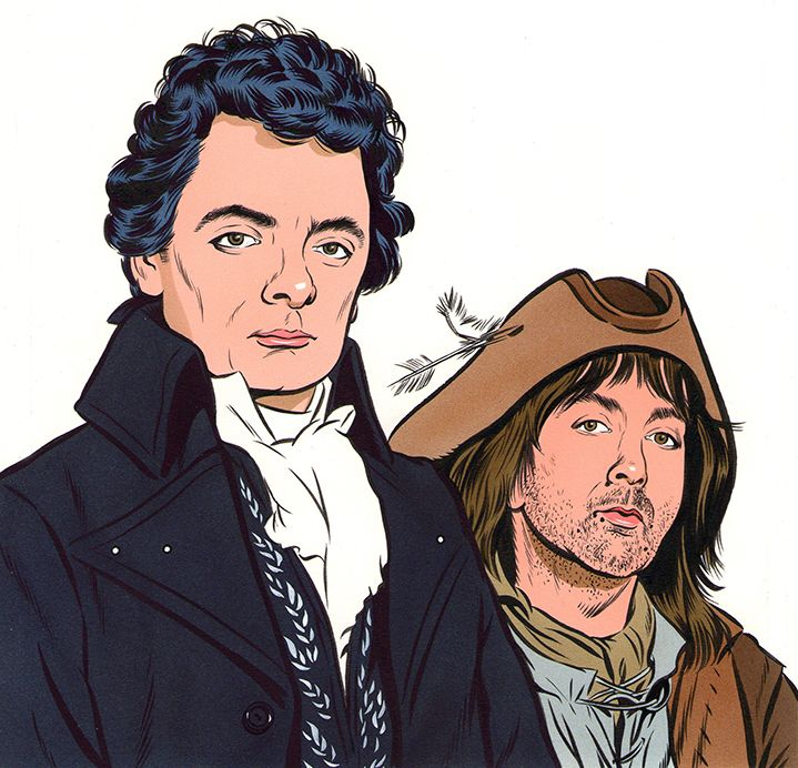 Blackadder (Illustrator: Mark Thomas) http://www.centralillustration.com/illustrators/mark-thomas